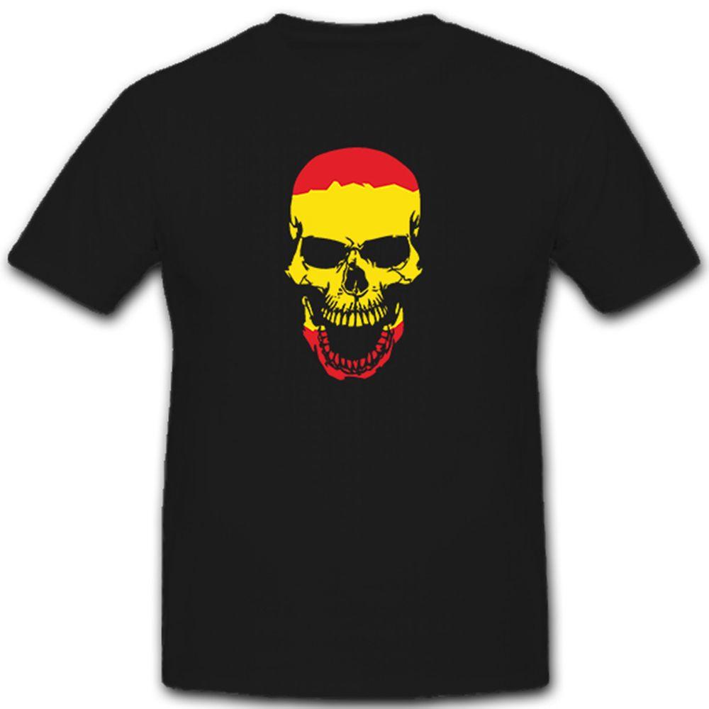 FRANKEN Wappen Skull Totenkopf Flagge fränkisch Rock Fahne FUN T-Shirt