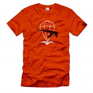 NVA FALLSCHIRMJÄGER Kameradschaft DDR Abzeichen T-Shirt # 33279