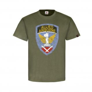 First Allied Airborne Wappen Abzeichen Logo WWII Operation Market T-Shirt#32267