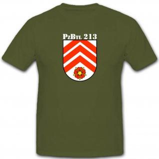 Panzerbataillon 213 Pzbtl213 Militär Bundeswehr Einheit Panzer - T Shirt #2807