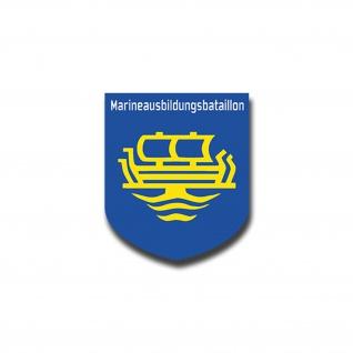 Aufkleber/Sticker Marineausbildungsbataillon Marine Lehrkompanie 6x7cm A1407