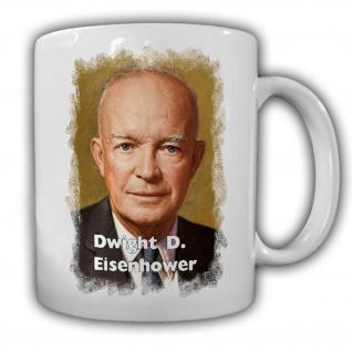 Tasse Präsident Dwight D. Eisenhower 34 Präsident Amerika America USA #14133