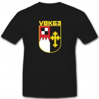 Vbk63 Verteidigungsbezirkskommando 63 Bundeswehr Militär Einheit T Shirt #3373