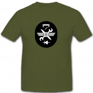 Fliegertechnische Versorgung Abzeichen NVA DDR Militär Emblem - T Shirt #7935