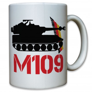 M109 Panzerhaubitze Artillerie Leopard Leo Heer Deutschland - Tasse #10130 t
