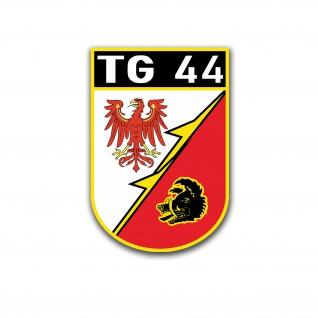 TG44 Aufkleber TranspG44 NVA DDR Transportfliegergeschwader 44 7x5cm#A5135
