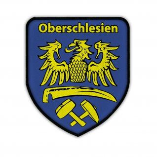 Patch / Aufnäher -Oberschlesien Schlesien Schlesier Heimat Adler Wappen #14478