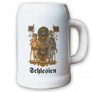 Krug / Bierkrug 0, 5l - Preußische Provinz Schlesien Kaiserreich Deutschland#9485