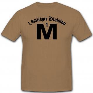 Skijäger Division Wh Wk Militär Abzeichen Wappen Emblem Einheit T Shirt #3232