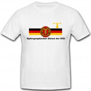Hydrographischer Dienst der NVA DDR Wappen - T Shirt #5521