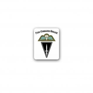 Aufkleber/Sticker Para Commando Brigade militärischer Verband Heer 5x7cm A3338