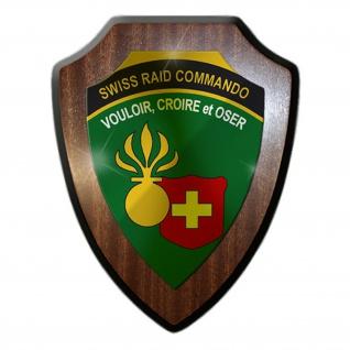 Wappenschild Swiss Raid Commando Schweizer Armee #14240