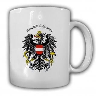Republik Österreich Wappen Emblem Kaffee Becher Tasse #13843