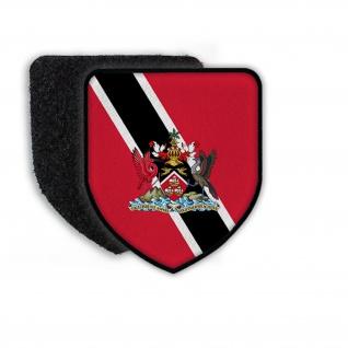 Patch Flagge von Trinidad und Tobago Wappen Aufnäher Flagge Fahne Land #21451