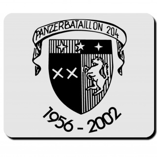 PzBtl 204 Panzerbataillon Panzer Bataillon Deutschland Militär - Mauspad #12155