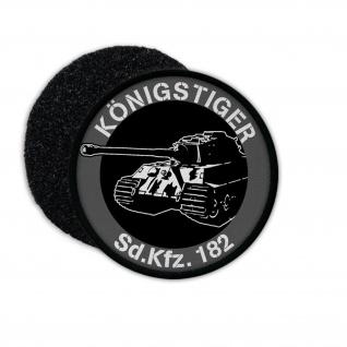 Patch Königstiger Panzer Panzerkampfwagen SdKfz 182 Ardennen Aufnäher #23236