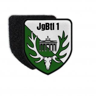 Patch JgBtl 1 Berlin Jägerbataillon BW Wappen Abzeichen Kompanie Btl #30112