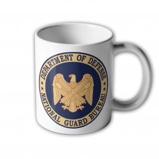 Tasse National Guard United States Usa Amerika Nationalgarde Abzeichen #32398