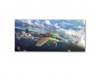 Poster rOEN911 P-38J Haleakala 459th FS 80th FG 5th AF 10th ab30x14cm#30707