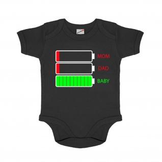 Baby Body Akkustand Ausgelaugt Erschöpft Müde keine Energie Eltern #31339