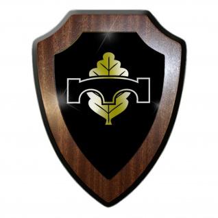 Wappenschild / Wandschild - Pionier Abzeichen Bundeswehr Pioniertruppe Streitkräfte Deutschland Armee Soldat Militär Einheit Emblem #18882