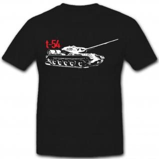 T 54 Panzer mittlerer Kampfpanzer Russland Sowjetunion NVA DDR - T Shirt #7482