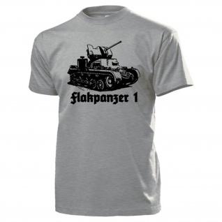 Flakpanzer 1 Panzer 2cm Flak WK Selbstfahr-Flugabwehrgeschütz - T Shirt #13717