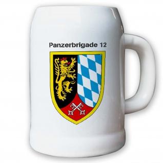 Krug / Bierkrug 0, 5l -11.Bierkrug Panzerbrigade 12 PzBrig Brigade Einheit #12975