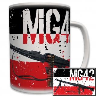MG 42 Maschinengewehr 42 Militär Deutschland - Tasse Becher Kaffee #6246