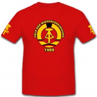 Die Helden Der Arbeit DDR Wappen Hammer Und Zirkel - - T Shirt #4520