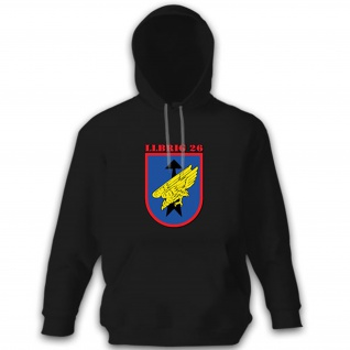 LLBrig 26 Luftlande Brigade 26 Saarland Deutschland Bundeswehr - Hoodie #11546