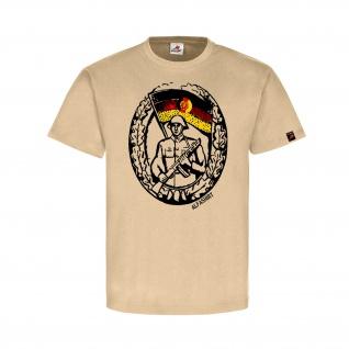 NVA Leistungsabzeichen DDR Nationale Volks Armee Veteran Ossi T Shirt #31421