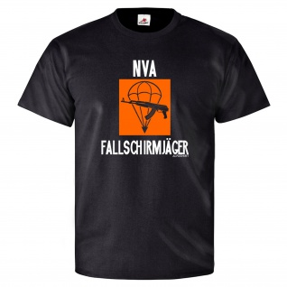 NVA Fallschirmjäger LStR 40 Luftsturmregiment DDR Prora Willi - T Shirt #25773