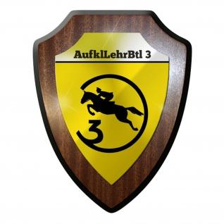 Wappenschild / Wandschild - AufklLehrBtl 3 Aufklärungslehrbataillon #8837