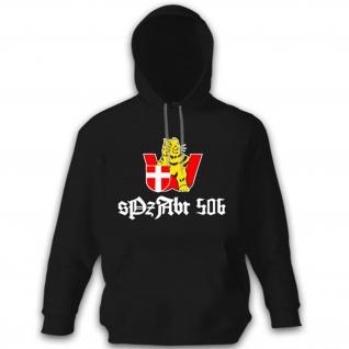 sPzAbt 506 schwere Panzer Abteilung 506 Wien Wappen Abzeichen Hoodie #12239