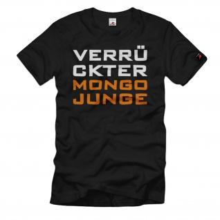 Verrückter Mongo Junge Fun Kids T-Shirt #35659