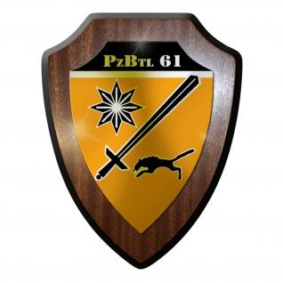 Wappenschild- Panzerbataillon PzBtl 61 Leopard Kampfpanzer Panzer Bataillon#9318