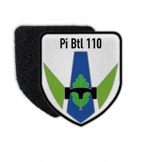 Patch Pi Btl 110 Pionier Bataillon Minden Klett Uniform Erinnerung #31832