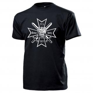 Annabergkreuz Oberland Schlesien Weimarer Republik Deutschland T Shirt #14604