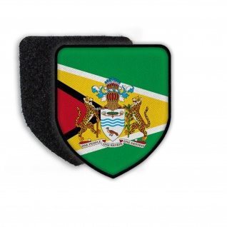 Patch Flag of Guyana Flagge Staat Land Nation Wappen Landesflagge Zeichen #21334