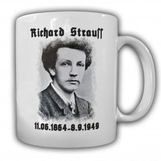 Richard Strauss deutscher Komponist Kaffee Becher Tasse #13720