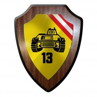 Wappenschild / Wandschild -PzGrenB 13 Österreich Panzergrenadierbataillon #9623