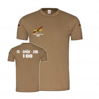 BW Tropen Fernspähkompanie 100 Scharfschütze Sniper Bundeswehr T-Shirt #34211