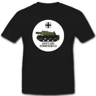 Sonderkraftfahrzeug 138 Militär Wh Wk Panzer Eisernes Kreuz T Shirt #2332
