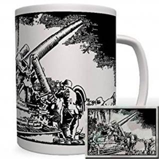 Dora Kanone 80cm Tasse Becher Kaffee #1128