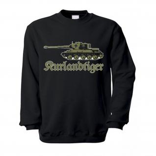 Kurlandtiger Tiger Panzer Kurland Wh T34-85 Umbau 8, 8cm Kanone Pullover #17233