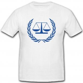 Logo des Internationalen Strafgerichtshofes- T Shirt #6000