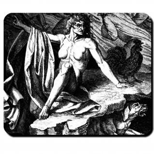 Ragnarök Schicksal der Götter Weltuntergang Götterdämmerung Mauspad #16108