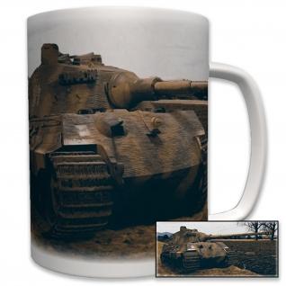 Tiger Panzer Foto Panzerkampfwagen Panzer Wk2- Tasse Becher Kaffee #5786