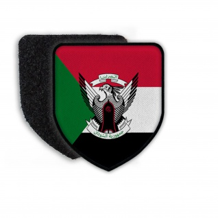 Patch Flag of Sudan Flagge Staat Land Nation Wappen Aufnäher Abzeichen #21357